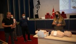 Büyükşehir'den İlk Yardım Sertifika Yenileme Eğitimi