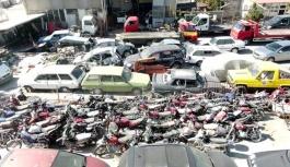 Milyonlarca Liralık Araçlar Yediemin Otoparklarında Çürüyor! Aralarında Lüks Markalar Da Var