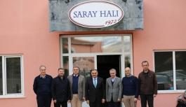 Başkan Cabbar'dan Saray Halı'ya tebrik...