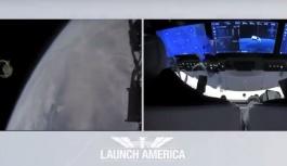 SpaceX'in NASA ile insanlı ilk uzay yolculuğu başladı