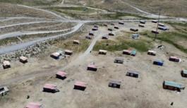 Korona virüsten Erciyes'in temiz havasında korunuyorlar