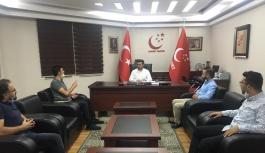 TEKDER Kayseri Şubesi'nin Saadet Partisi...