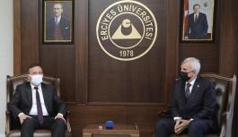 SBÜ Rektörü Prof. Dr. Cevdet Erdöl,...