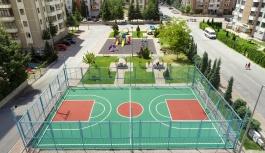 Talas'ın Spor Sahaları Yenileniyor