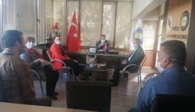 CHP'den Lokantacılar ve Pastacılar Odası ile Ziraat Mühendisleri Odasına ziyaret
