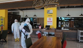 Kocasinan'da Kafe Sinan hizmete hazır, yollarda yenileme