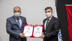 TSE'den İstikbal'e Covid 19 güvenli üretim belgesi