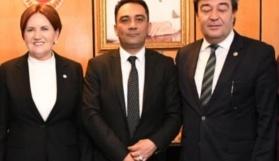 İYİ Parti il başkanlığı Sebati Ataman'da