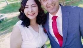 Antrenör Ayşegül Kılıç, gazeteci Ahmet bolat ile evlendi