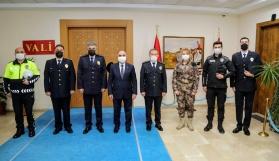 Vali Günaydın'a Polis Haftası Ziyareti
