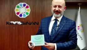 TKB'den Kocasinan Belediyesi'ne Uygulama Ödülü